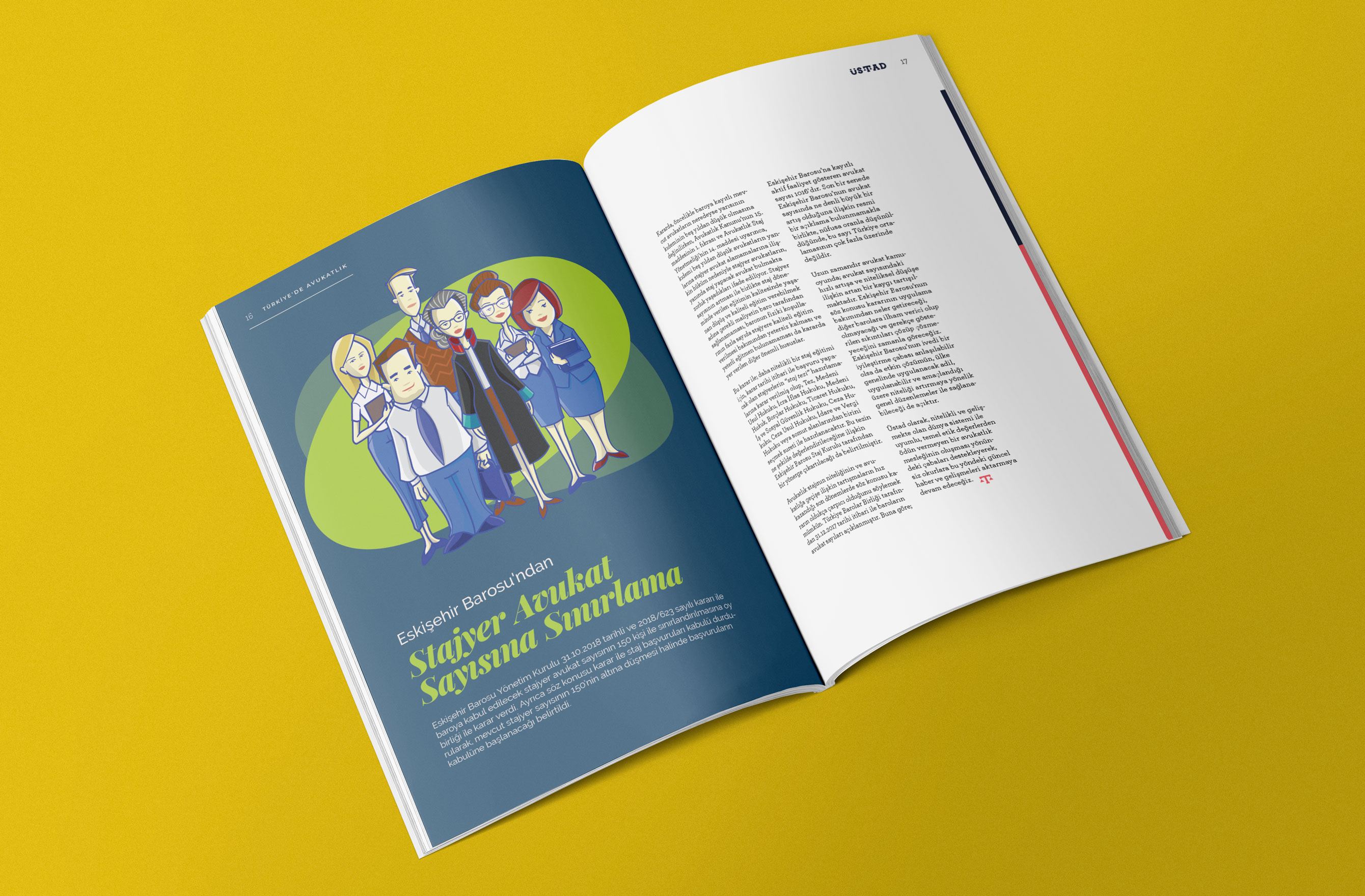 8th issue of Üstad Magazine