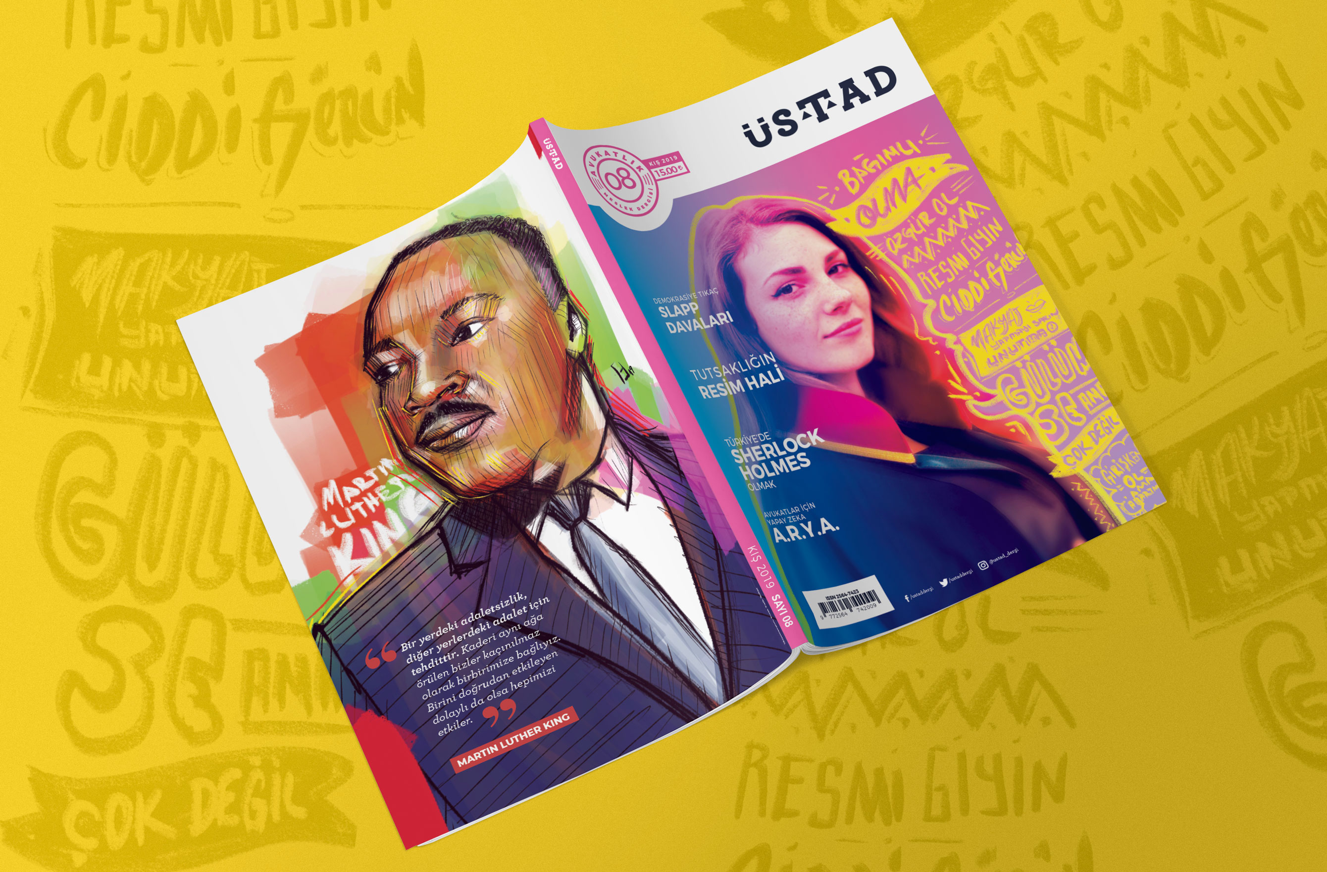 8th issue of Üstad Magazine