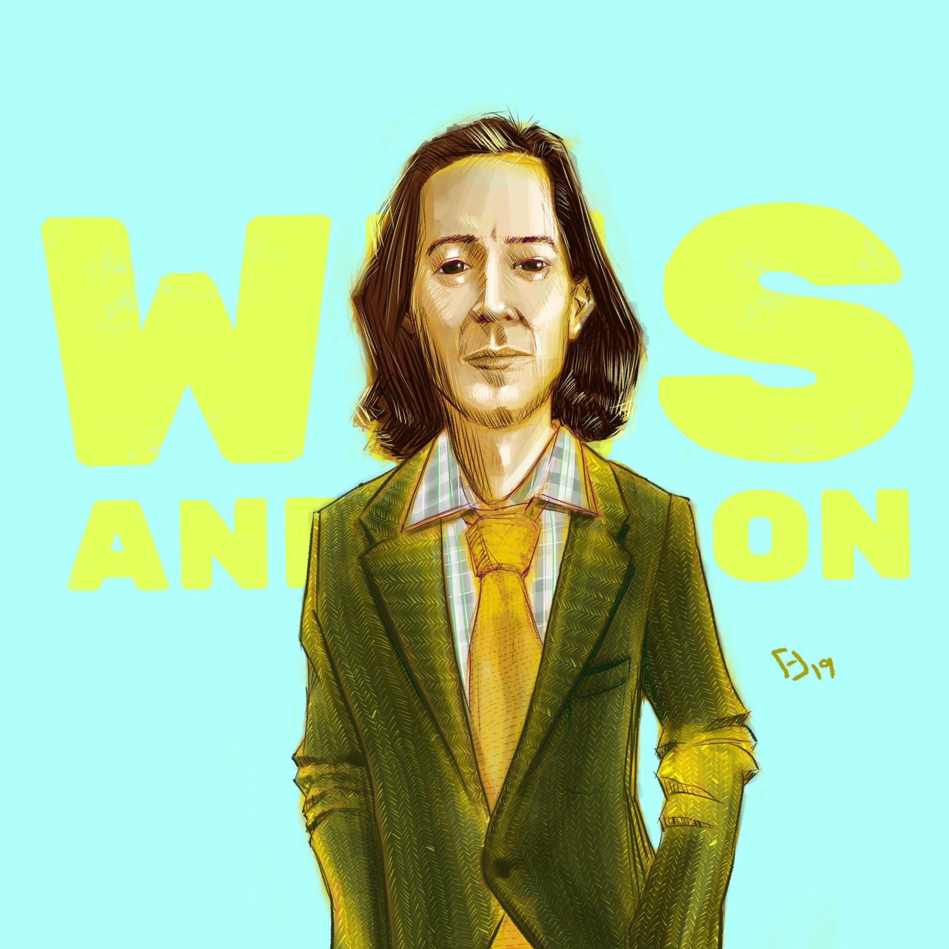 Wes Anderson Fan Art